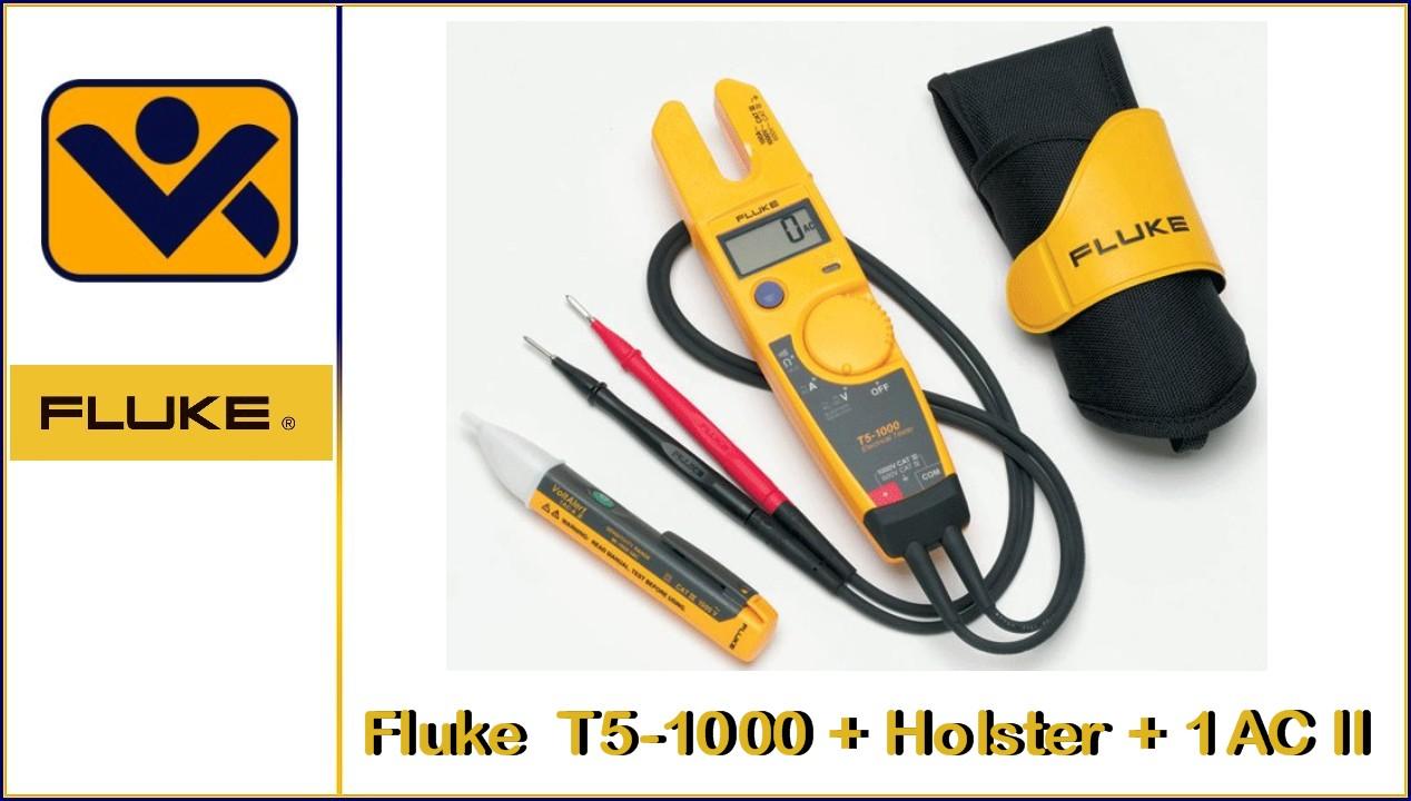 Elektrotester-Kit_T5-1000 _ Holster_1AC II_iv-krause_Fluke T5-H5-1AC II Kit_Fluke_Azubikit_Ausbildung 2098657