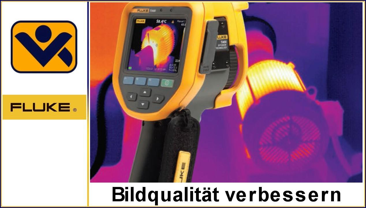Bildqualitaet verbessern,Thermografie, perfektes IR-Waermebild,Temperaturmessungen,SuperResolution,Fokussierung,Weitwinkelobjektive, iv-krause Fluke