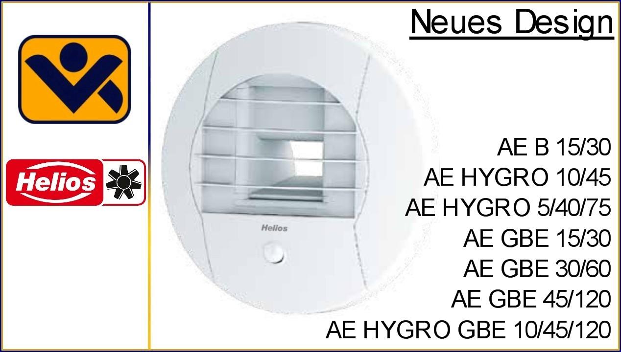AE B 15 30, AE HYGRO 10 45, AE GBE 15 30,02047-003, AE, AE B, AE Hygro, AE GBE, Ablufttellerventile, 02055-003, iv-krause Helios Ventilatoren