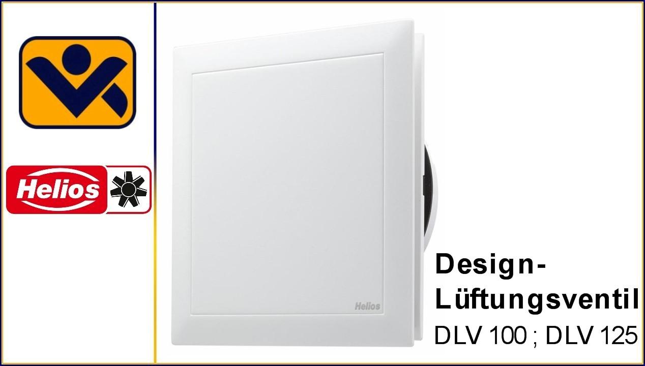 ,DLV 100 ,3039, DLV 125 , 3049,Zuluftbetrieb,integriertem G2-Filter,, iv-krause Helios Design-Lueftungsventil, Ventilatoren