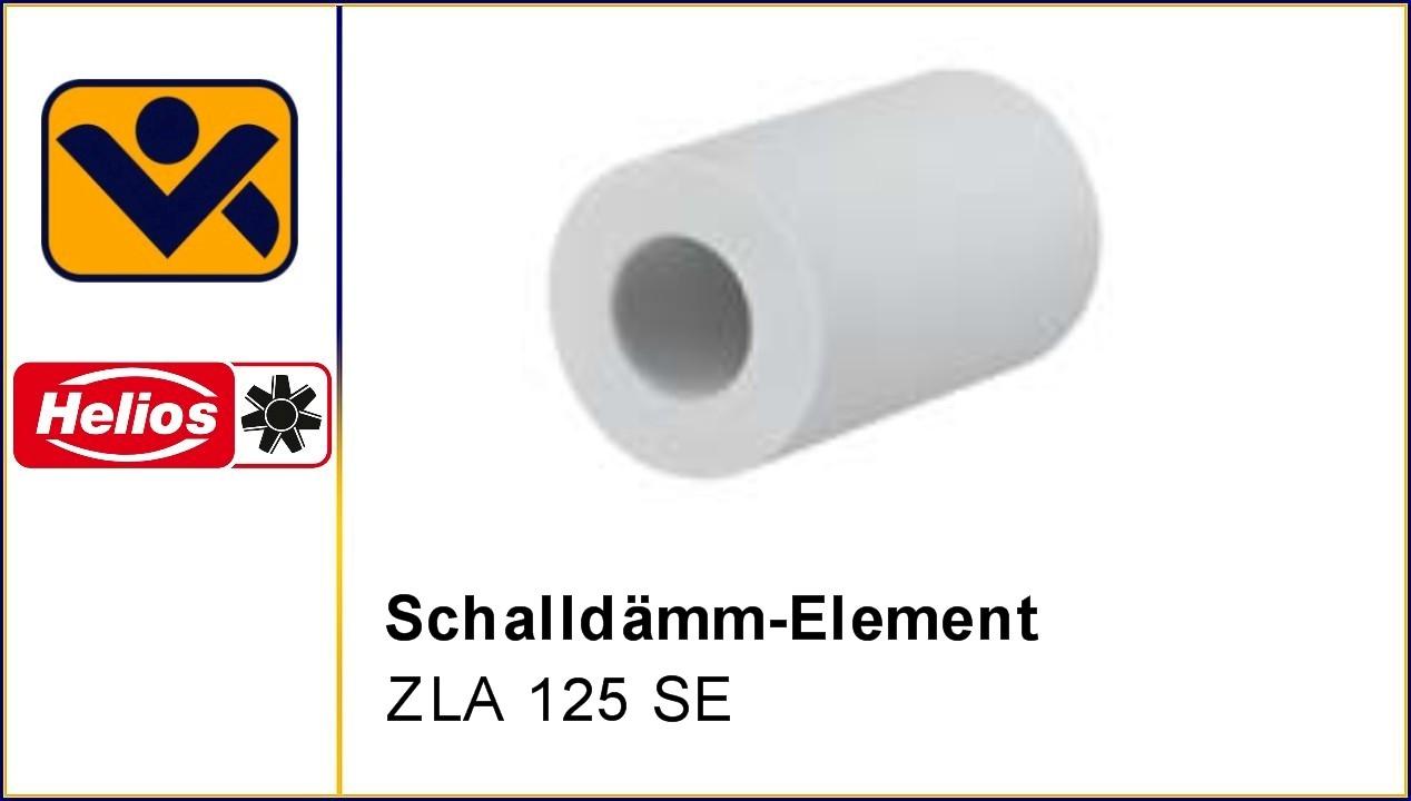 ZLA 125 SE, , Laibungselement, Schalldaemmelement 200 mm, feuchtegesteuert,Melaminharz-Schaumstoff , Teleskoprohr, iv-krause Helios Ventilatoren, ZLA LE,Schalldaemm-Element