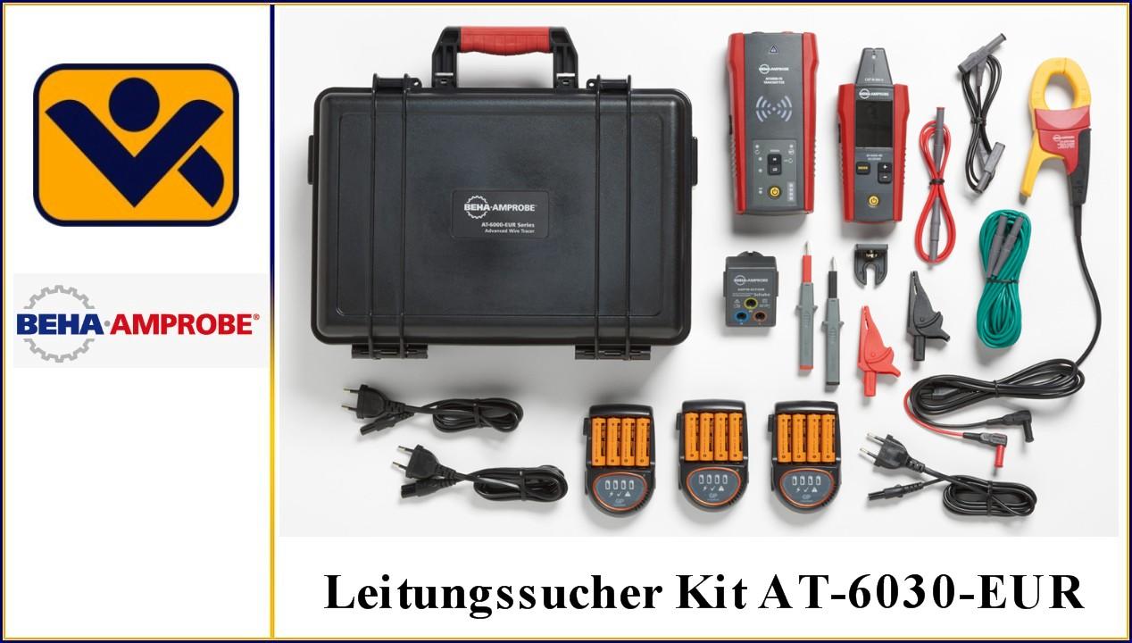 Leitungssucher Kit AT-6030-EUR, Artikel Nr. 4868016,Empfaenger AT-6000-RE, Sender AT-6000-TE,TL-7000-EUR,ADPTR-SCT-EUR -CH, Signalzange CT-400-EUR, CC-6000, iv-krause Beha Amprobe
