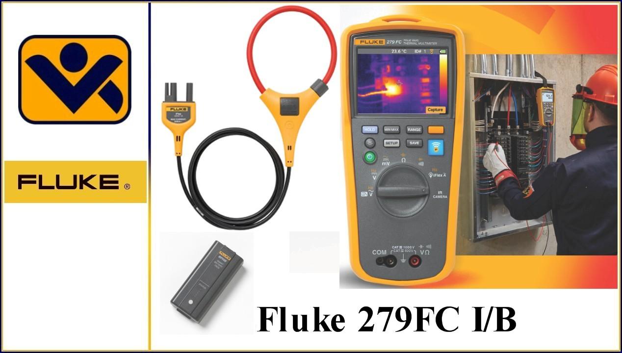 095969872386,Lithiumionen Akku, Fluke 279FC , iFlex, Drahtloses Echteffektiv-Waermebild-Multimeter , Flexible Stromzange , iv-krause Fluke, 4684050, 4989200,