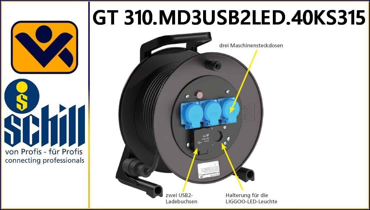 27043424500_GT310.MD3USB2LED.40KS315_USB2-Ladebuchsen_40m_Kabel_IP54_Halterung_LIGGOO-LED-Leuchte__Kabeltrommel_Maschinensteckdosen_Spezialgummi_H07RN-F_3G1,5_iv-krause Schill