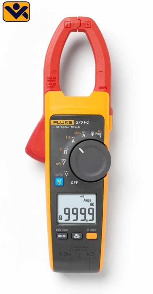 Fluke 376 FC Echteffektiv Gleichstrommesszangen Wechselstrommesszangen