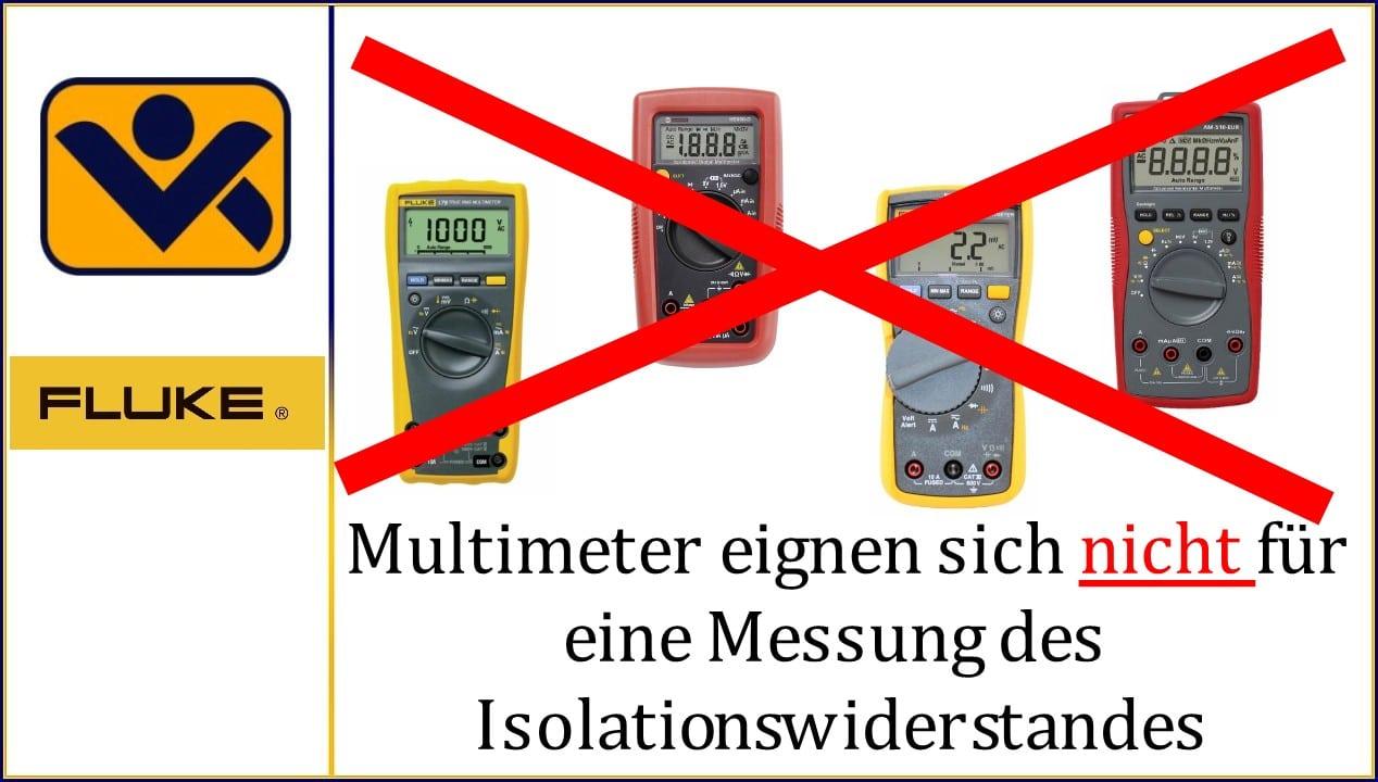 Multimeter_eignen_sich_nicht_fuer_eine_Messung_des_Isolationswiderstandes_Fluke_ Beha-Amprobe_iv-krause.de_Robert_Krause